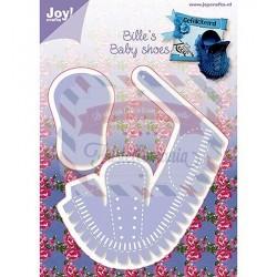Fustella metallica Joy! Crafts Bille's Baby Shoes Boy