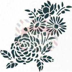 Fustella Sizzix Thinlits Botanical Mask