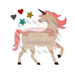Fustella Sizzix Bigz Unicorn by Samantha Barnett