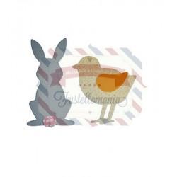 Fustella Sizzix Bigz Spring Animals by Sophie Guilar
