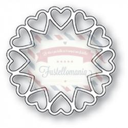 Fustella metallica PoppyStamps Fancy Heart Ring