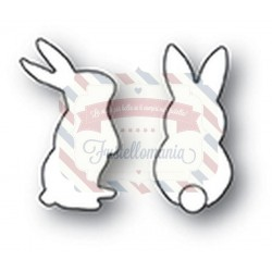 Fustella metallica PoppyStamps Little Rabbits