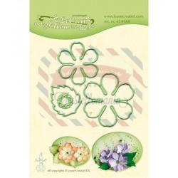 Fustella metallica Leane Creatief Easy flower 002