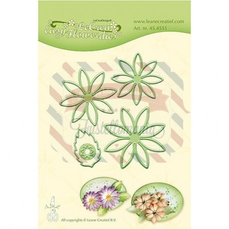 Fustella metallica Leane Creatief Easy flower 001