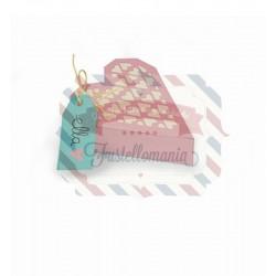 Fustella Sizzix Thinlits Heart Box
