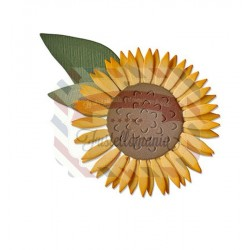 Fustella Sizzix Thinlits Sunflower