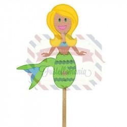 Fustella Sizzix Bigz Sirena marionetta