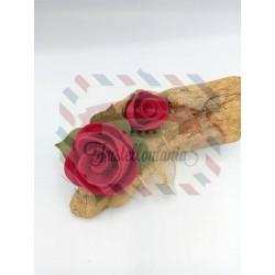 Fustella XL Rosa e bocciolo