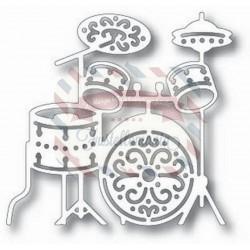 Fustella metallica Tutti Designs Drum Set