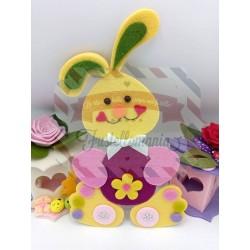 Fustella L Coniglio dispettoso con uovo