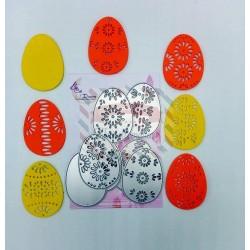 Fustella metallica Uova di Pasqua