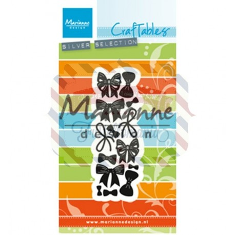Fustella metallica Marianne Design Craftables Punch die Bows