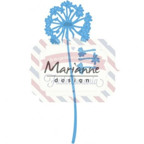 Fustella metallica Marianne Design Creatables Dandelion