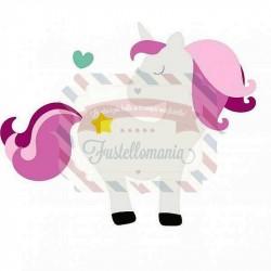 Fustella Sizzix Bigz Unicorno Magico