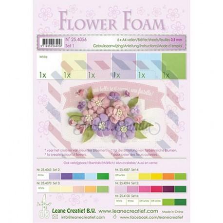 Fommy Leane Creatief 0,8 mm in fogli A4 6 pezzi colori sfumati Pastello