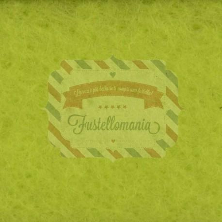 Rotolo Pannolenci 1mm - 45x500 cm colore verde brillante