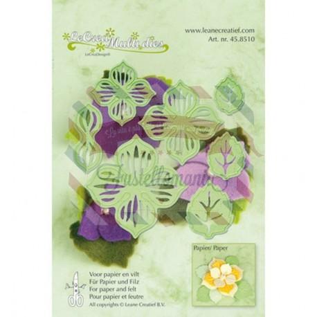 Fustella metallica Leane Creatief Multi Flower 002