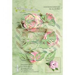 Fustella metallica Leane Creatief Multi Flower 005