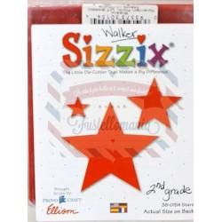 Fustella Sizzix Originals Stelle