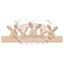 Fustella metallica Bunny Border