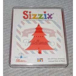 Fustella Sizzix Originals Albero di Natale