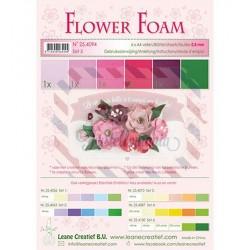 Fommy Leane Creatief 0,8 mm in fogli A4 6 pezzi colori sfumati Rosso Rosa