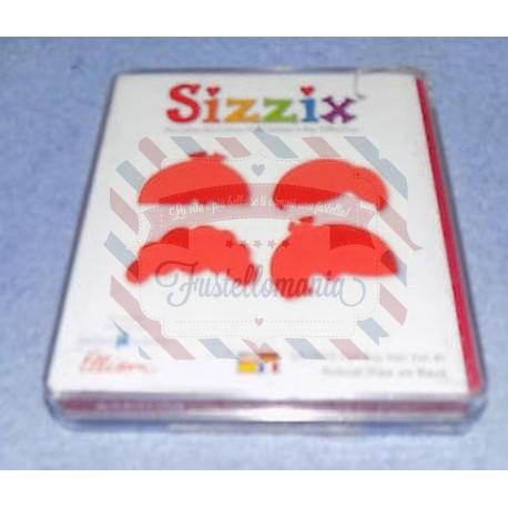 Fustella Sizzix BigZ Capelli bimbo 1