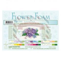 Fommy Leane Creatief per fiori 0,8 mm in fogli A4 10 pezzi colore Blu estate