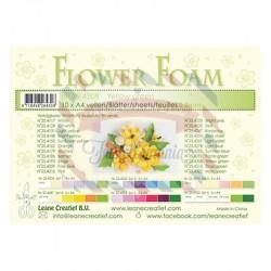 Fommy Leane Creatief per fiori 0,8 mm in fogli A4 10 pezzi colore Verde Giallo