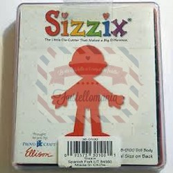 Fustella Sizzix Originals Corpo bimbo