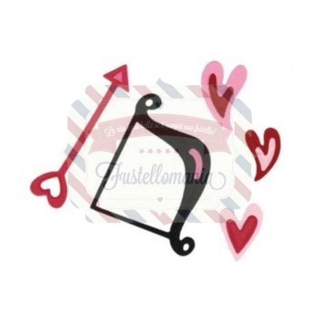 Fustella Sizzix Sizzlits Cupido arco e frecce