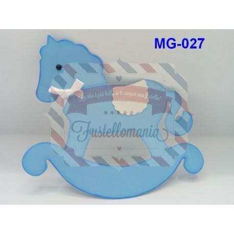 Fustella Cavallo a dondolo A4