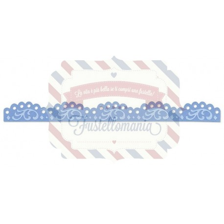 Fustella Sizzix Decorative Strip Kids Motivo decorativo smerlato antico
