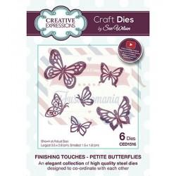 Fustella metallica Creative Expressions Petite Butterflies