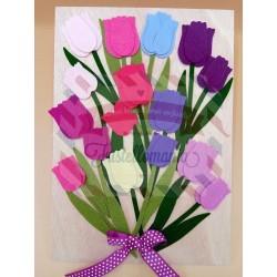 Fustella L Tulipani e Vaso