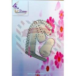 Fustella metallica Mini scarpetta 2