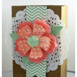 Fustella Sizzix BIGZ L Stampin UP Fun flowers