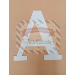 Lettera decorativa A4 18 cm