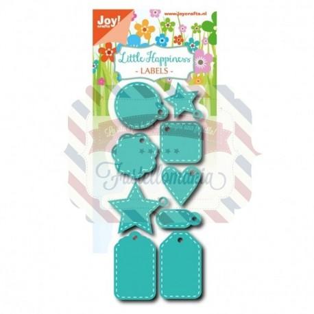 Fustella metallica Joy! Crafts Labels