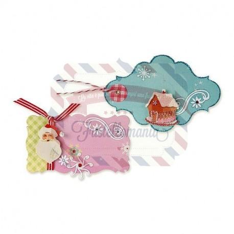 Fustella Sizzix Bigz Gift Tags