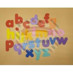 Fustella doppia XL Alfabeto minuscolo Rainbow