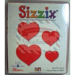 Fustella Sizzix Originals Cuori