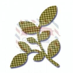 Fustella Sizzix Bigz Camellia Leaf