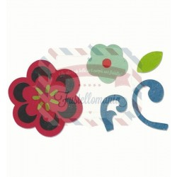 Fustella Sizzix Bigz Flower & Flourish