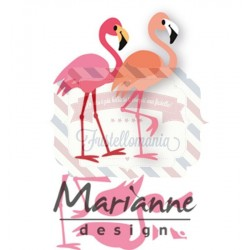 Fustella metallica Marianne Design Collectables Eline's Flamingo