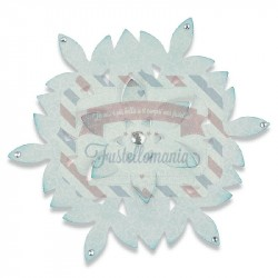 Fustella Sizzix Bigz Snowflake decoration