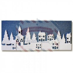 Fustella Sizzix Thinlits Landscape Border by Pete Hughes