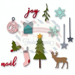 Fustella Sizzix Thinlits Festive Set by My Life
