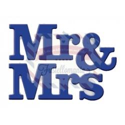 Fustella metallica Mr. & Mrs.