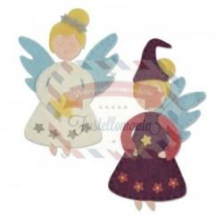 Fustella Sizzix Bigz Christmas Fairy